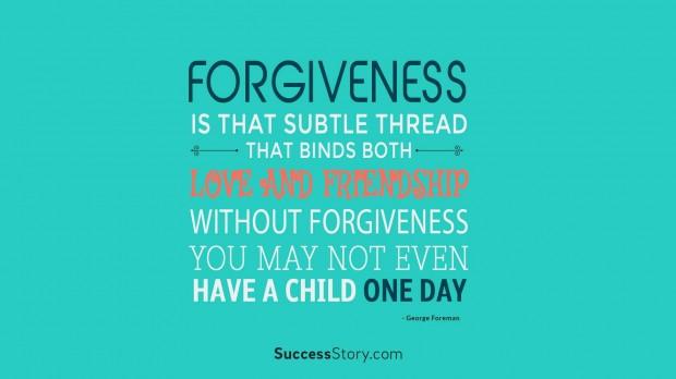 forgiveness is that sub