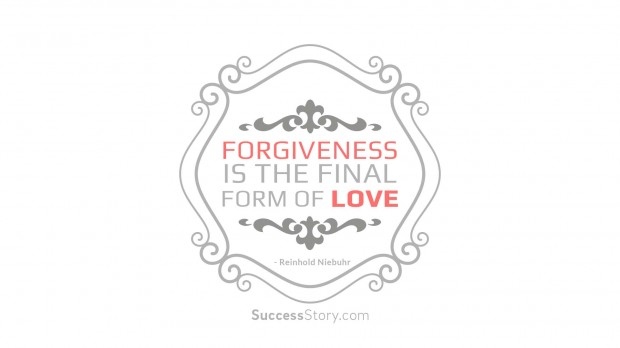 forgiveness is the final form