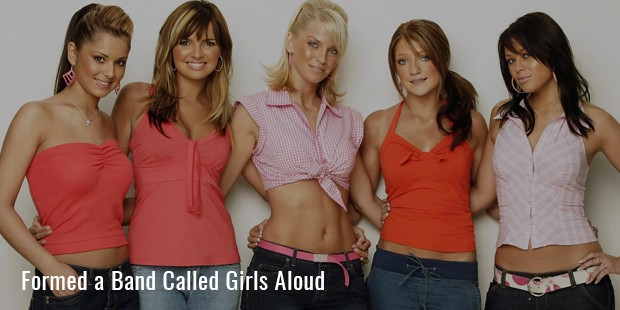 formed a band called girls aloud