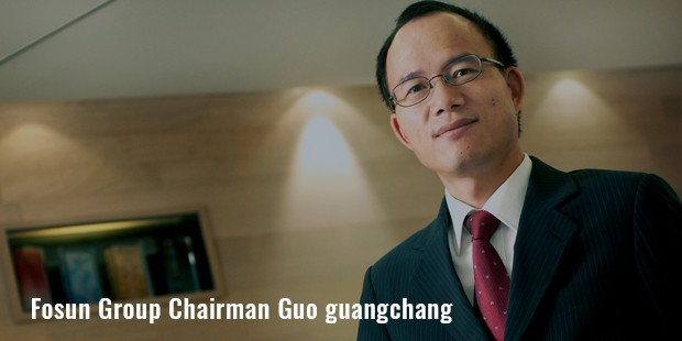 fosun group chairman guo guangchang
