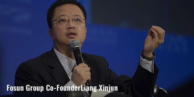 fosun group co founderliang xinjun