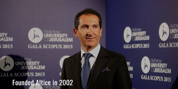 Founded Altice in 2002
