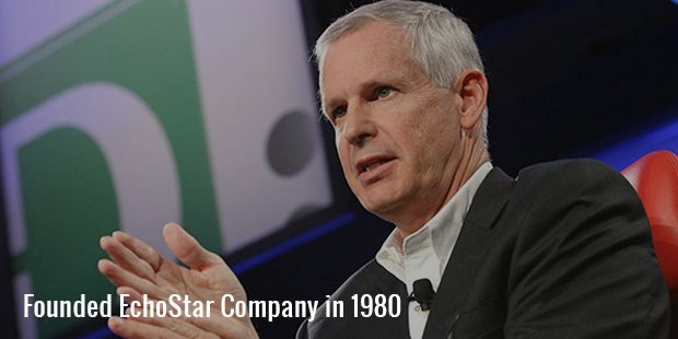 founded echostar company in 1980