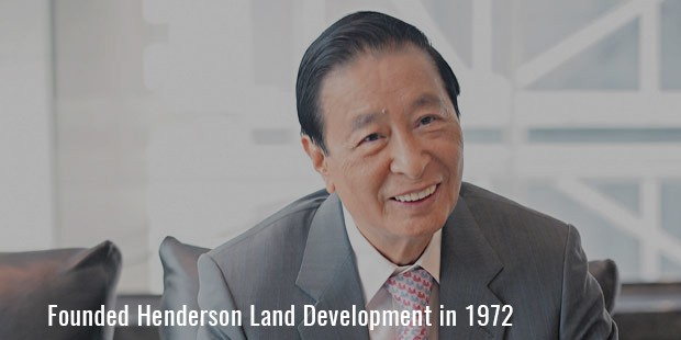 Founded Henderson Land Development in 1972