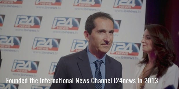 Founded the International News Channel i24news in 2013