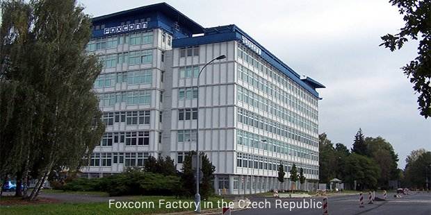 foxconn factory in the czech republic