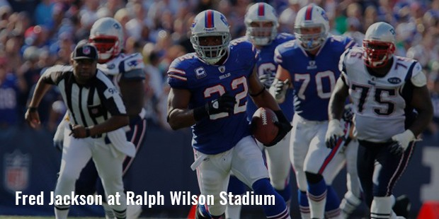 fred jackson at ralph wilson stadium