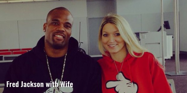 fred jackson with wife
