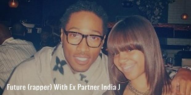 future  rapper  with ex partner india j
