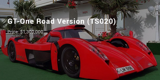 gt one road version  ts020