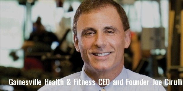 gainesville health   fitness ceo and founder joe cirulli