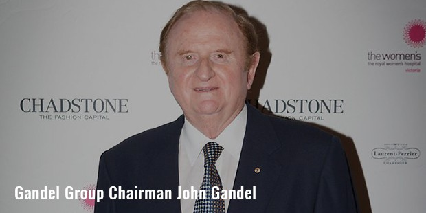 gandel group chairman john gandel