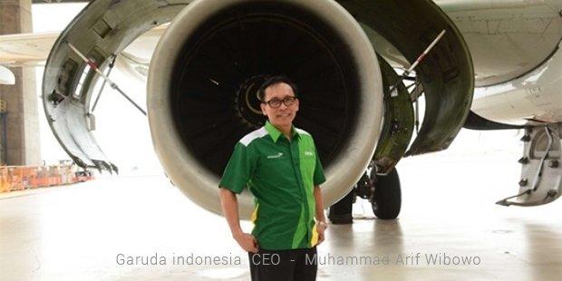 garuda indonesia  ceo     muhammad arif wibowo