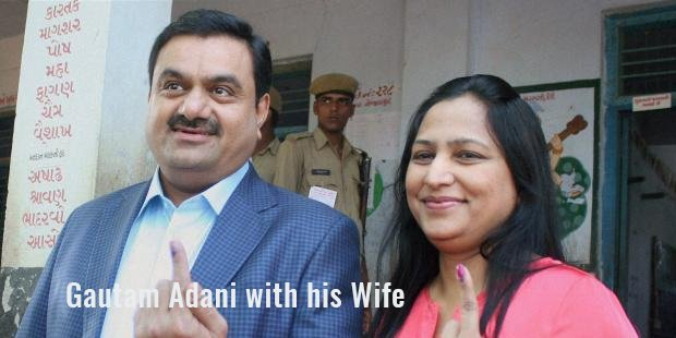 gautam adani with his wife