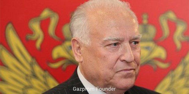 gazprom founder