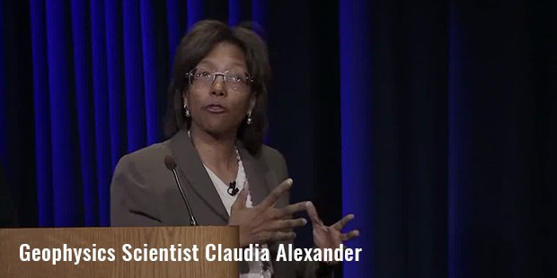 geophysics scientist claudia alexander