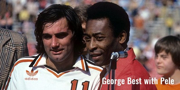 george best with pele