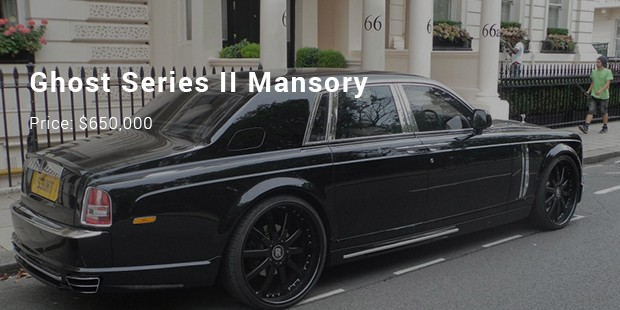 ghost series ii mansory