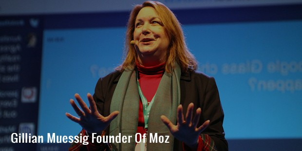 gillian muessig founder of moz