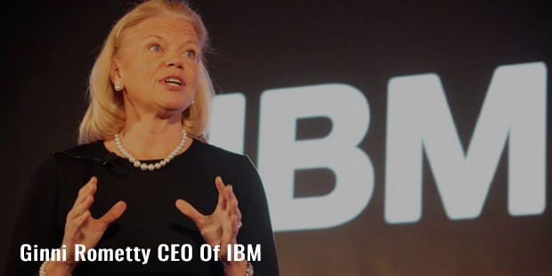 ginni rometty ceo of ibm
