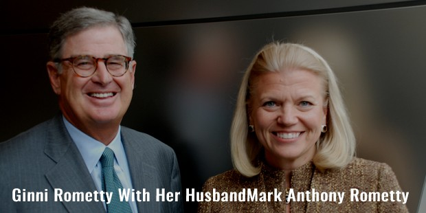 ginni rometty with her husbandmark anthony rometty