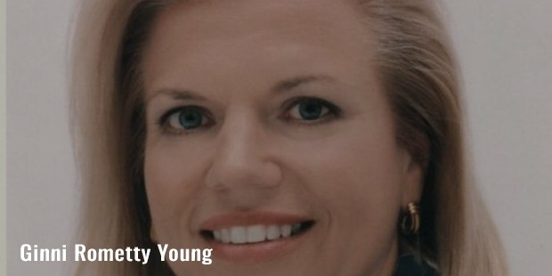 ginni rometty young