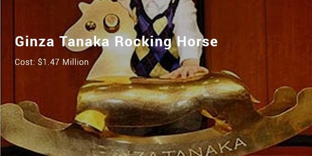 ginza tanaka rocking horse