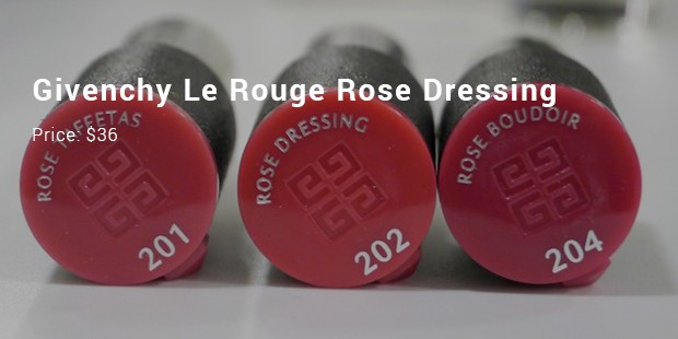 givenchy le rouge rose dressing