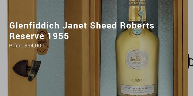 glenfiddich janet sheed roberts