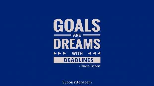 Goals are dreams