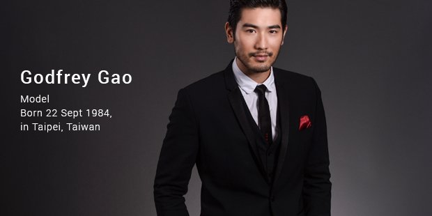 Asian model and actor