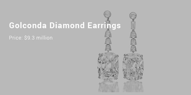 golconda diamond earrings
