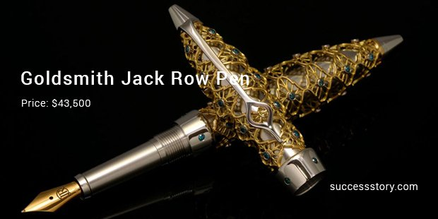 goldsmith jack row pen