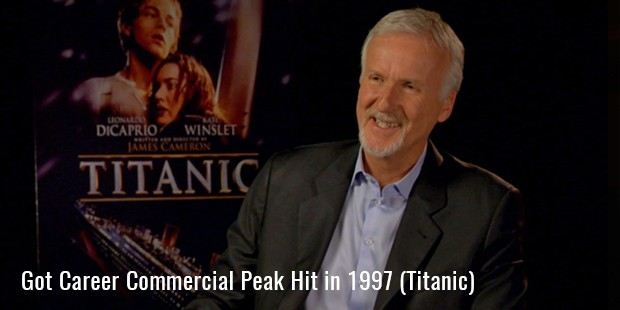 Got Career Commercial Peak Hit in 1997 (Titanic)