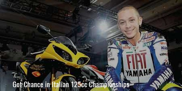 Got Chance in Italian 125cc Championships