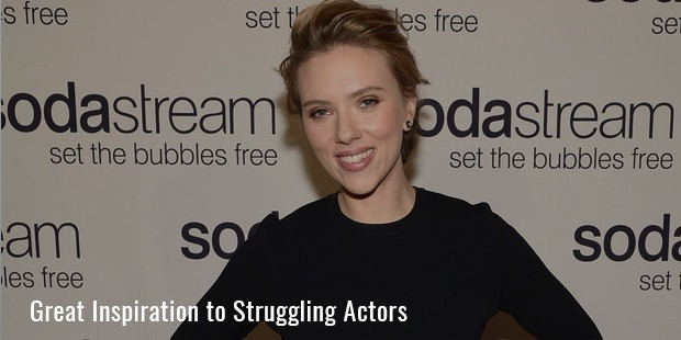 Great Inspiration to Struggling Actors