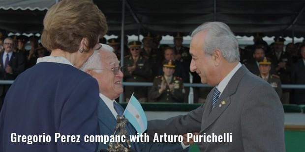 gregorio perez companc with arturo purichelli