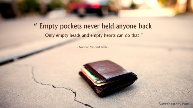Empty pocket