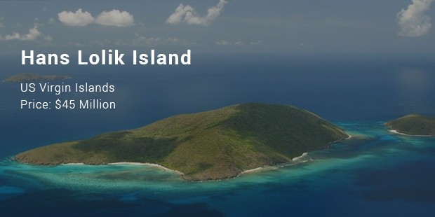 Hans Lolik Island, US Virgin Islands
