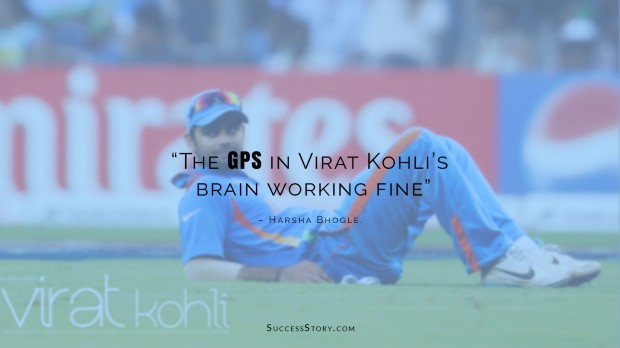 harsha bhohle about kohli