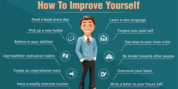 15 Most Practical Ways To Improve Yourself: Have High Self Esteem