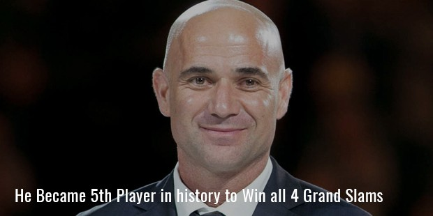 he became 5th player in history to win all 4 grand slams