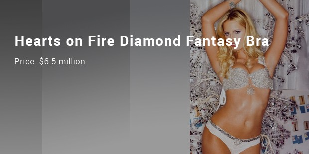 hearts on fire diamond fantasy bra