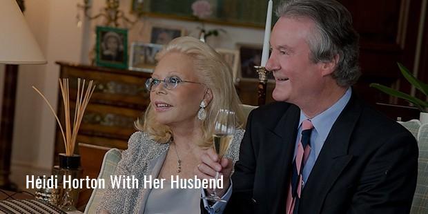 heidi horten has been married twice
