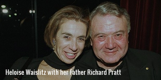 heloise waislitz with her father richard pratt