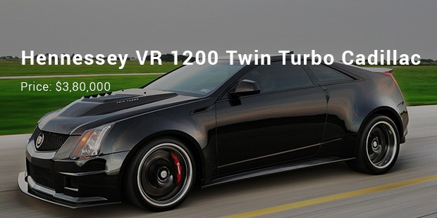 hennessey vr 1200 twin turbo cadillac