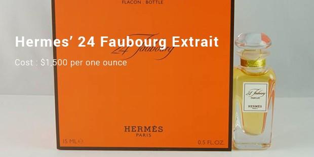 hermes' 24 faubourg extrait