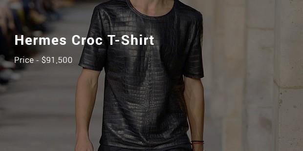 hermes croc t shirt