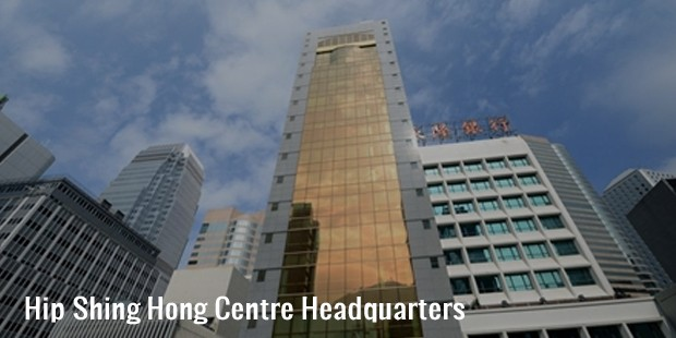 hip shing hong centre headquarters