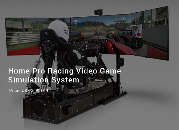 home pro racing video game